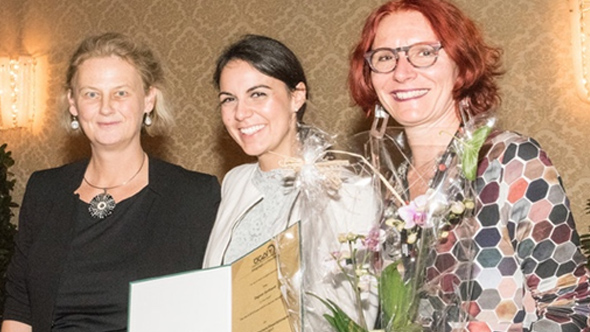 Dagmar Gotthardt receives the Fritz Melchers Prize of the Austrian Society for Allergology and Immunology (ÖGAI)