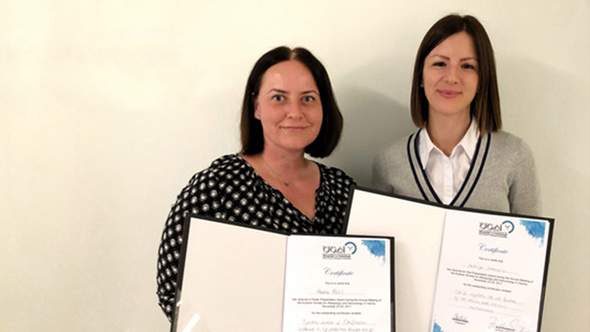 Two awards for SFB-associated PhD students at the Annual Meeting of the Austrian Society for Allergology and Immunology (ÖGAI)