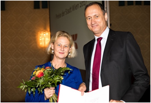Veronika Sexl is awarded the City of Vienna Prize (Preis Stadt Wien) for her achievements in Medical Sciences