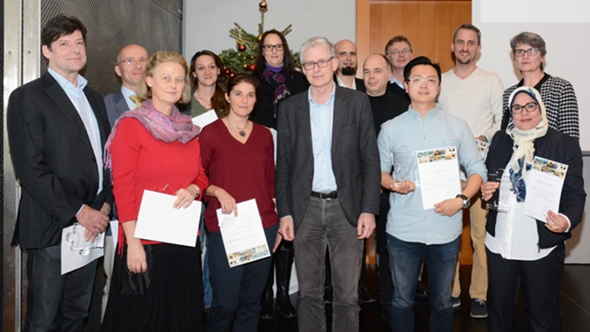 "Veronika Sexl and Mathias Müller receive the Science Prizes ""Grant Acquisition"" of the Vetmeduni Vienna"