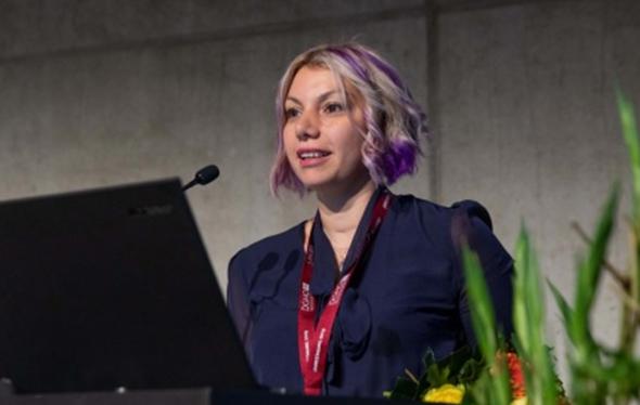Iris Uras Jodl receives the Wilhelm Türk Prize